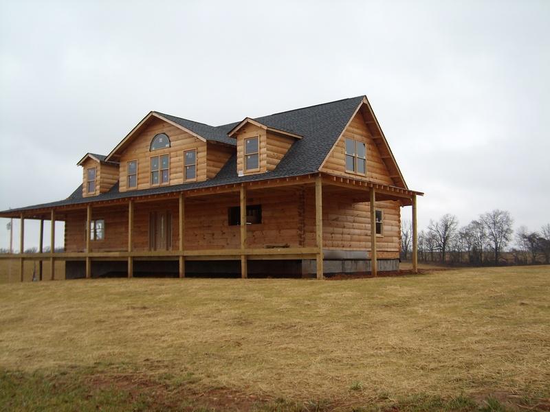 Van Dyke Custom Log Homes Packages Materials Supplies